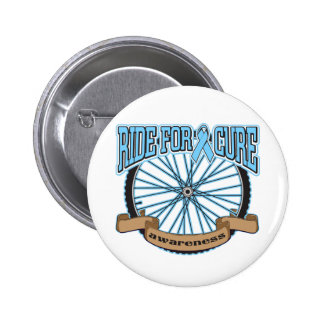 Prostate Cancer Ride For Cure 2 Inch Round Button