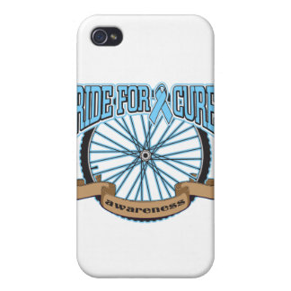Prostate Cancer Ride For Cure iPhone 4 Covers