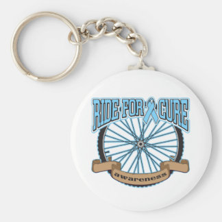 Prostate Cancer Ride For Cure Key Chain