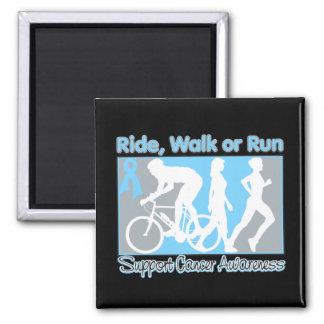 Prostate Cancer Ride Walk Run Refrigerator Magnet
