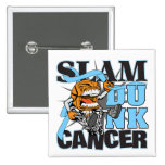 Prostate Cancer - Slam Dunk Cancer Button