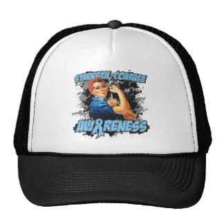 Prostate Cancer Strength Courage Trucker Hat