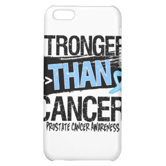 Prostate Cancer - Stronger Than Cancer iPhone 5C Covers