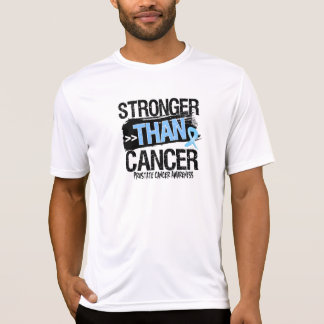 Prostate Cancer - Stronger Than Cancer T-Shirt