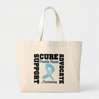 Prostate Cancer Support Advocate Cure Tote Bags