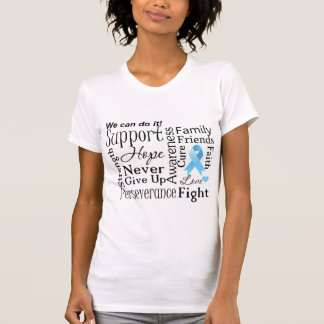 Prostate Cancer Supportive Words T Shirt
