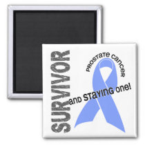 Prostate Cancer Survivor 1 Magnet