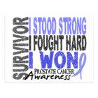 Prostate Cancer Survivor 4 Postcard