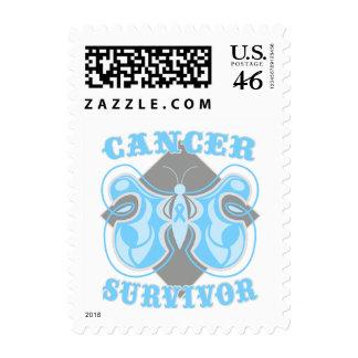 Prostate Cancer Survivor Butterfly Postage Stamps