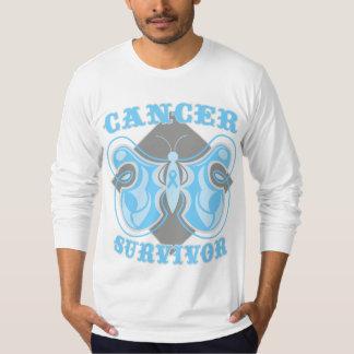 Prostate Cancer Survivor Butterfly T Shirts
