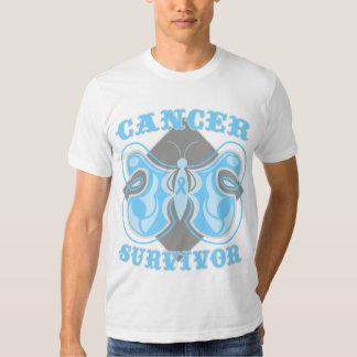 Prostate Cancer Survivor Butterfly Tshirt