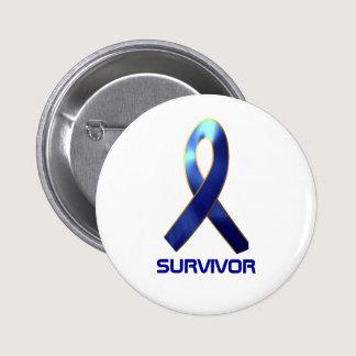 PROSTATE CANCER SURVIVOR BUTTON