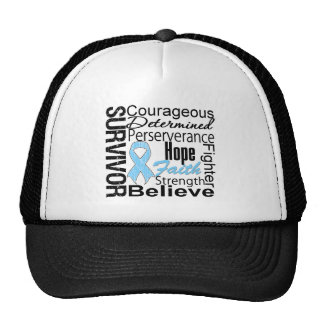 Prostate Cancer Survivor Collage Mesh Hat