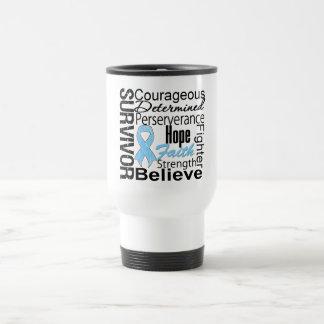 Prostate Cancer Survivor Collage Mug