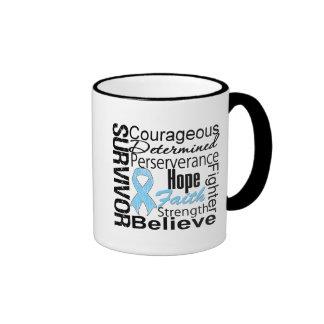 Prostate Cancer Survivor Collage Coffee Mug