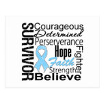 Prostate Cancer Survivor Collage Postcards