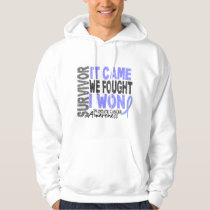 Prostate Cancer Survivor It Came We Fought I Won Hoodie