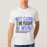 Prostate Cancer Survivor It Came We Fought I Won Tee Shirt