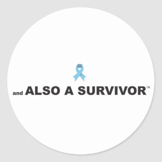 Prostate Cancer Survivor Sticker