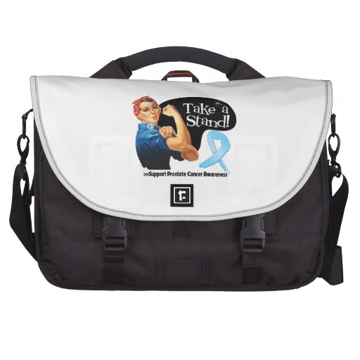 Prostate Cancer Take a Stand Laptop Commuter Bag