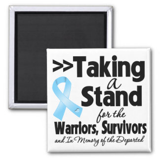 Prostate Cancer Taking a Stand Tribute Fridge Magnet