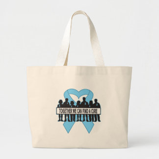 Prostate Cancer Together We Can Find A Cure Tote Bags