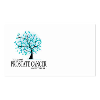 Prostate Cancer Tree Business Card