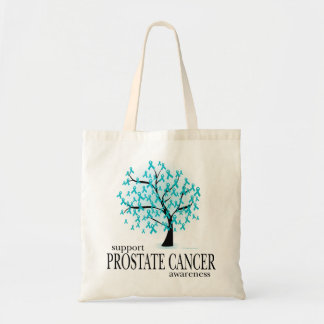 Prostate Cancer Tree Tote Bag