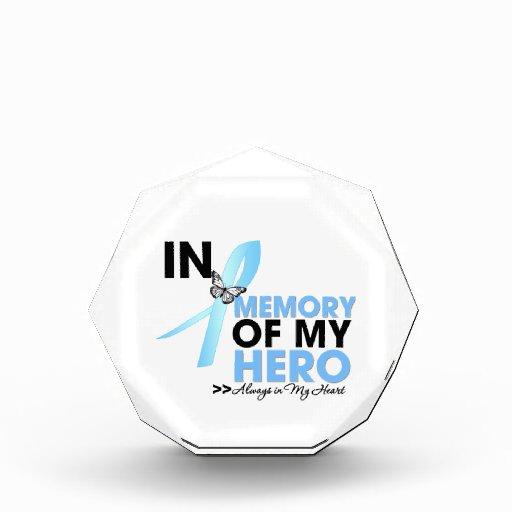 Prostate Cancer Tribute In Memory of My Hero Award