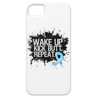 Prostate Cancer Wake Up Kick Butt Repeat iPhone 5/5S Covers