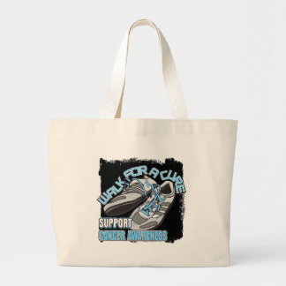 Prostate Cancer Walk For A Cure Shoes Jumbo Tote Bag