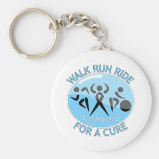 Prostate Cancer Walk Run Ride For A Cure Key Chains
