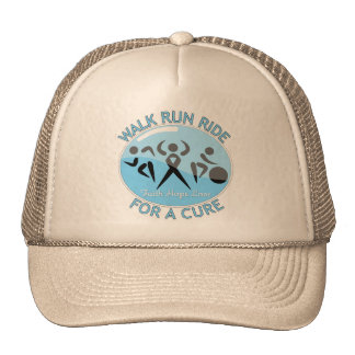 Prostate Cancer Walk Run Ride For A Cure Mesh Hat