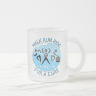 Prostate Cancer Walk Run Ride For A Cure Coffee Mugs