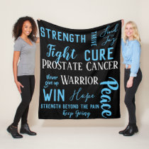 Prostate Cancer Warrior blanket