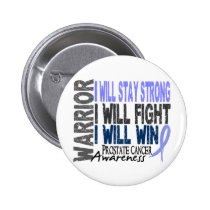 Prostate Cancer Warrior Button