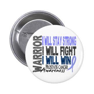 Prostate Cancer Warrior Button