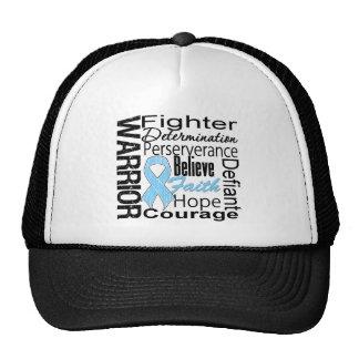 Prostate Cancer Warrior Collage Mesh Hats