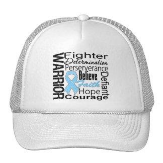 Prostate Cancer Warrior Collage Hats
