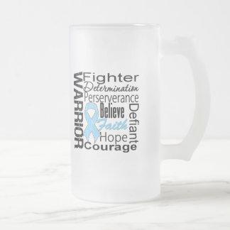 Prostate Cancer Warrior Collage Mugs