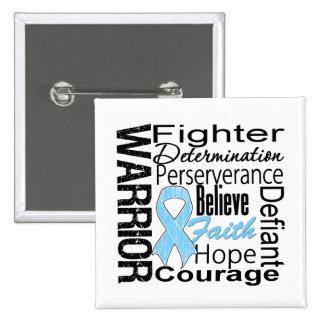 Prostate Cancer Warrior Collage Pins
