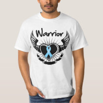 Prostate Cancer Warrior Fighter Wings T-Shirt