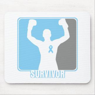 Prostate Cancer Winning Survivor Mouse Pad