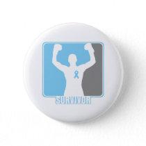 Prostate Cancer Winning Survivor Pinback Button