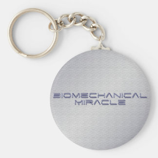 Prostetic T-shirts | Gifts for Amputees Basic Round Button Keychain