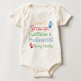 Prosthodontist (Future) Like My Mommy Baby Bodysuit