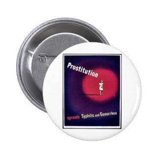 Prostitution Pinback Button