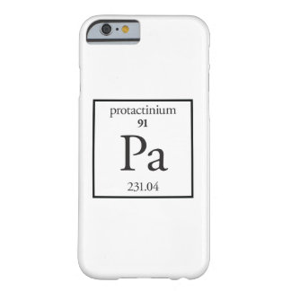 Protactinium Barely There iPhone 6 Case