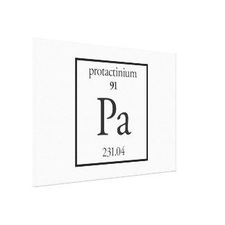Protactinium Canvas Print