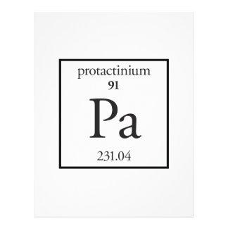 Protactinium Flyer